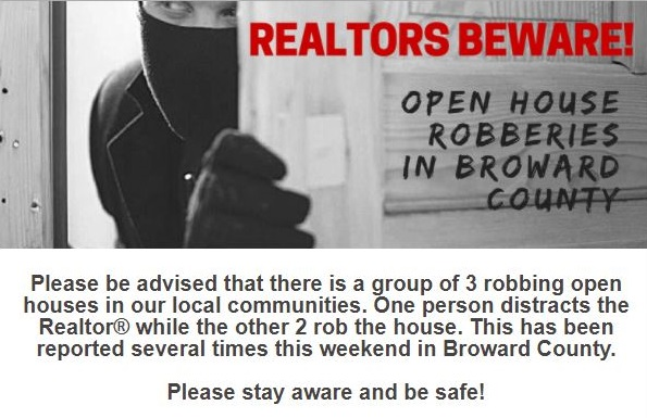 Realtor Warning